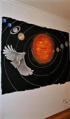 Pintura Visionária para uma casa particular